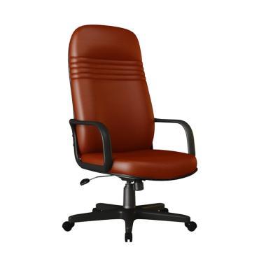 Verona Chair KD-101-TL Type Standard Oscar Kursi Kantor - Coklat