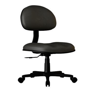 Verona Chair KS-950-H Type Standard Vinyl Kursi Kantor - Hitam