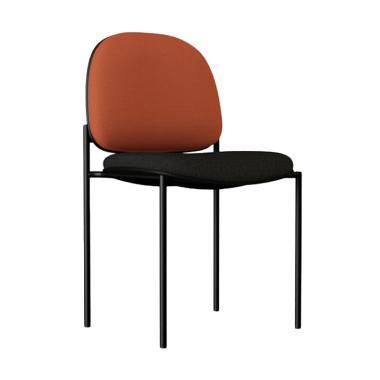 Verona Chair ST-012 Type Standard Vinyl Kursi Kantor - Coklat