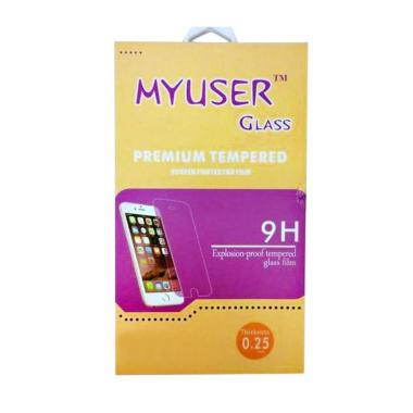 MyUser Tempered Glass Screen Protector for Oppo Muse - Clear