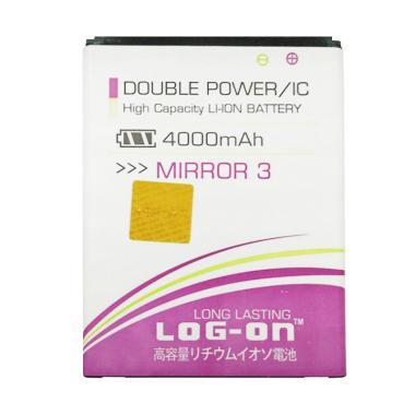 Log On Double Power and IC Battery  ... 4000 mAh/Garansi 6 Bulan]