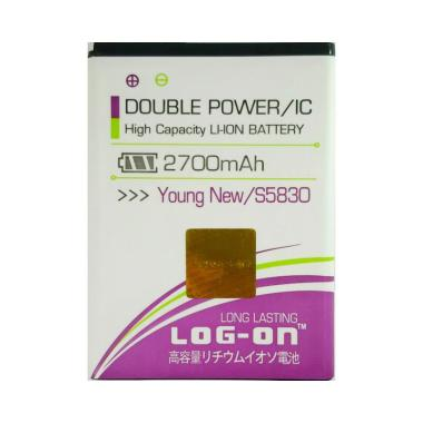 Log On Double Power & IC Battery fo ... laxy Young New [2700 mAh]