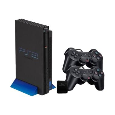 SONY PS2 HDD Internal Seri 18 Metri ... 40 GB + 2 Stick Wireless]