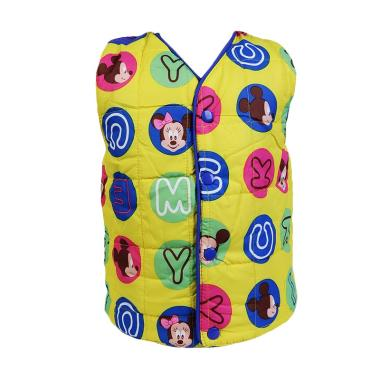 Chloe Babyshop F986  Bubble Alphabet Mickey Jaket Rompi - Yellow