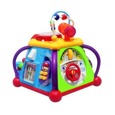 Momo Happy Small World Little Jox Box 806 Mainan Bayi - Multicolour