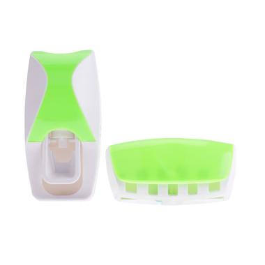 Hanakei Home New Toothpaste Dispenser Odol - Hijau