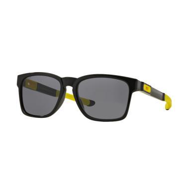 greece kacamata pria cowok oakley twoface polarized polaroid super a41d4  9f958  closeout oakley catalyst oo9272 927217 polished black vr 46  sunglasses grey ... 6119037145