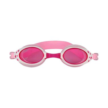 VR Swimming Googles Anti Fog UV Protection Kacamata Renang Anak - Pink