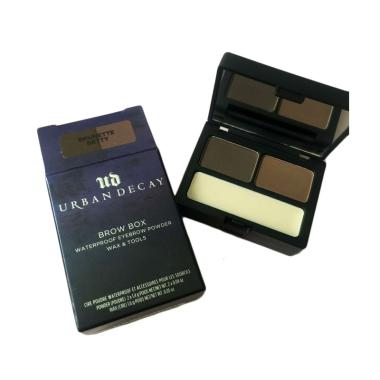 eyebrow powder. urban decay brow box waterproof eyebrow powder wax \u0026 tools w