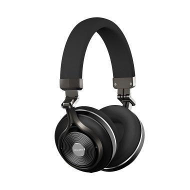 harga Bluedio T3 Plus 3D HiFi Sound Effect Headset wit Slot Micro SD - Hitam Blibli.com