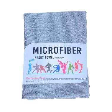 Mipacko Microfiber Handuk Olahraga - Grey [30 x 70 cm]