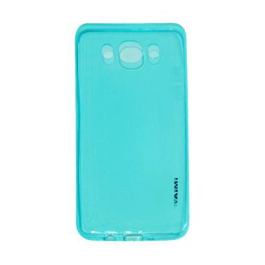 Aimi UltraThin Softcase Silicone Casing for Samsung Galaxy J5 J510 2016 - Blue