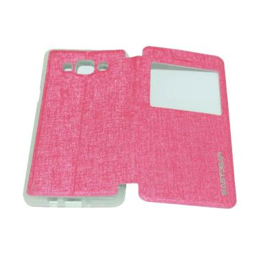 Easybear Flip Cover Flipshell Casin ... ng Galaxy A5 A500F - Pink