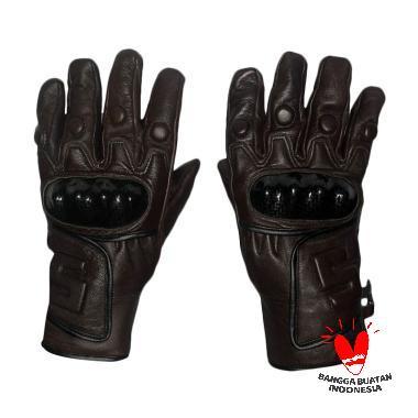 Gauravi Fashion 011 Full Finger Gloves Sarung Tangan - Brown