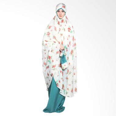 Aira Muslim Butik AB.MK-21 Zhulaika Prayer Set - White peach
