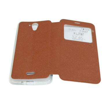 Ume Flip Cover Casing for Hisense F ... Handphone / View - Coklat