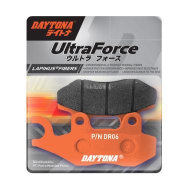 Daytona 3387 Max Series Ultra Force Lapinus Fiber Kampas Rem Motor