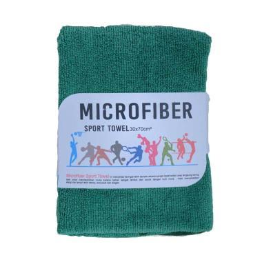 Mipacko Microfiber Handuk Olahraga - Green [30 x 70 cm]