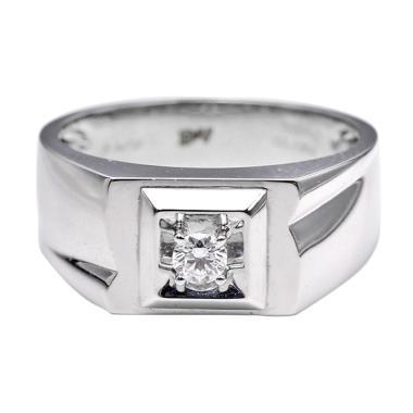 Tiaria DHTXHJZ073 Perhiasan Cincin  ...  Berlian White Gold [18K]