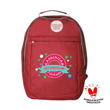 Uliandra Muslim Kids Rasulullah Idolaku Backpack Tas Sekolah Anak