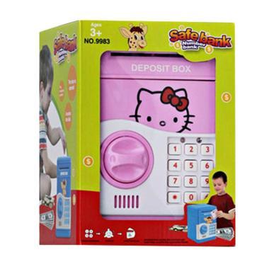 TME 9983 Hello Kitty Safe Bank - Pink