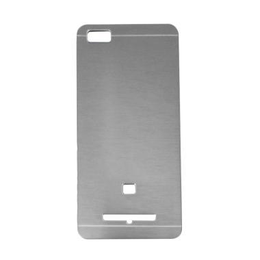 Motomo Metal Hardcase Casing for Xiaomi Mi 4i or Xiaomi Mi4i - Silver