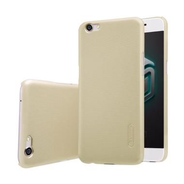 Nillkin Frosted Hardcase Casing for OPPO F3 Plus or R9S Plus - Gold