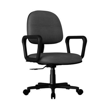Verona Chair KS-800-HTK Type Standard Oscar Kursi Kantor - Hitam