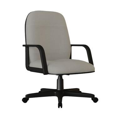 Verona Chair KS-251-HK Type Standard Vinyl Kursi Kantor - Abu-abu