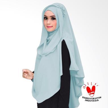 Milyarda Hijab Khimar Al Zaina Kerudung Instan Syar'i - Baby Blue