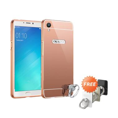 Elshadai Bumper Mirror Casing for O ... se Gold + Free Stand Ring