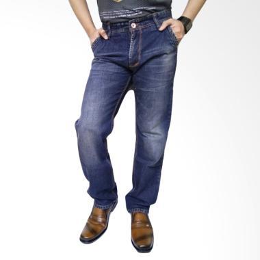 New Lion's Impor Celana Jeans Pria - Blue Dark