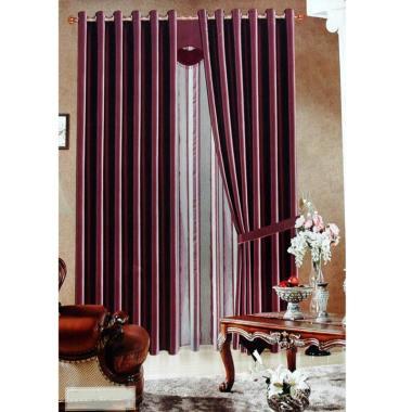 Ellenov Gorden Import Black Out DEL ... Set Gorden [150 x 250 cm]
