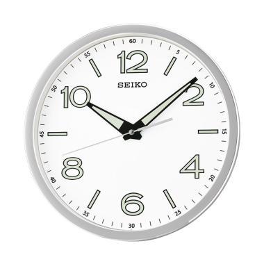 Jual Seiko QXA694B Lumibrite Quiet Sweep Wall Clock Jam Dinding - Brown  28  cm  63de42f5ec