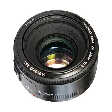 Yongnuo Lens YN 50mm F/1.8 Standard ...  Kamera for Nikon - Black