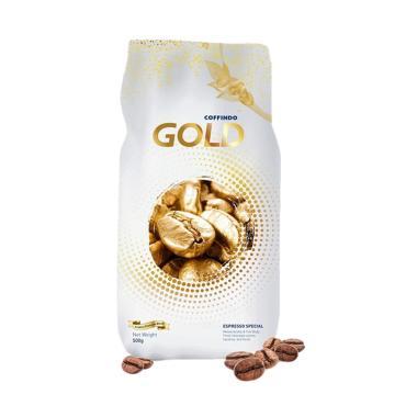 Coffindo Kopi Gold Espresso Roasted ... e Arabica Premium [500 g]