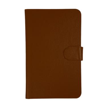 Universal Leather Sarung Dompet Casing for Tablet 7 Inch - Coklat