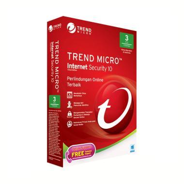 harga Trend Micro Internet Security Software Anti Virus [3 User] Blibli.com