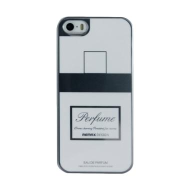 Remax Parfume Series Softcase Casing for iPhone 5/5s/SE - Putih Silver