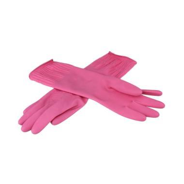 DTShop Korean Rubber Glove Sarung Tangan Karet Cuci Piring [Size S]