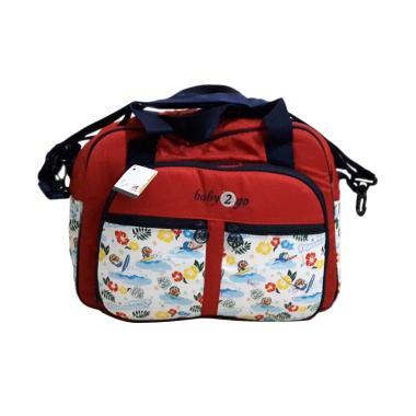 Baby Scots Baby 2 Go Doraemon Serie ... gkapan Bayi - Red [Besar]