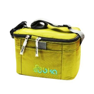 BKA Cooler Bag Starter Kit Tas Peny ... el dan Botol Kaca - Hijau