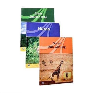 Nicola Seri IPA Buku Edukasi [Alam  ... Hutan + Gurun dan Gunung]
