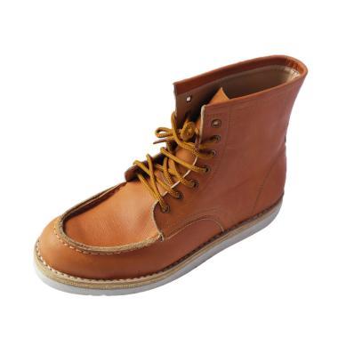 Hogwarts Footwear Dombledore Sepatu Boots Pria - Tan