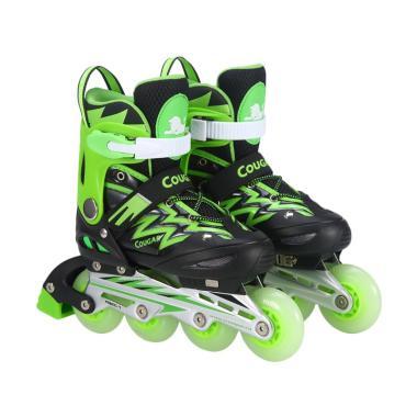 Cougar ADJ.Junior Inline Skate W-AB ... -GR with Lightning Wheels