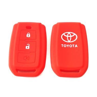 OEM Sillicone Remote Cover Sarung Kunci For Toyota Avanza