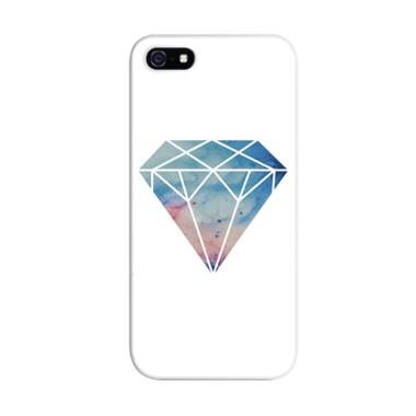 Indocustomcase Diamond Hardcase Casing for Apple iPhone 5/5S/SE