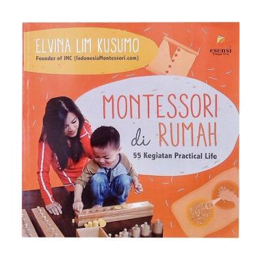 harga Erlangga Montessori di Rumah by Elvina Lim Kusumo Buku Parenting Blibli.com