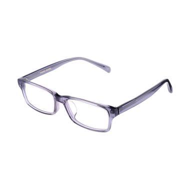 Franc Nobel 041523 Unisex Fitz Musgravite Transparent Kacamata - Grey