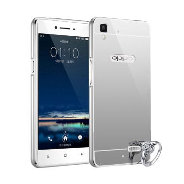Case Bumper Chrome With Backcase Mi ... F1 Selfie Expert - Silver